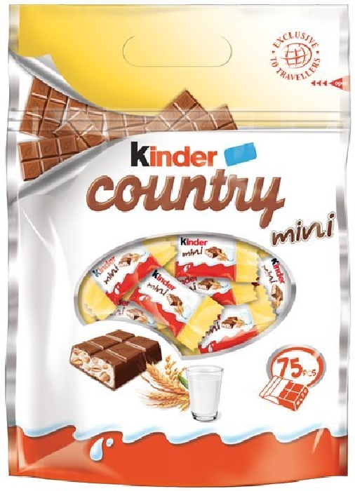 Kinder Mini Country Pouch 400g