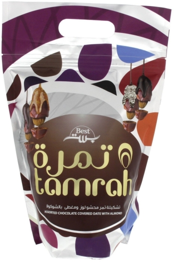 Tamrah Assorted Choco Date with Almond 600g