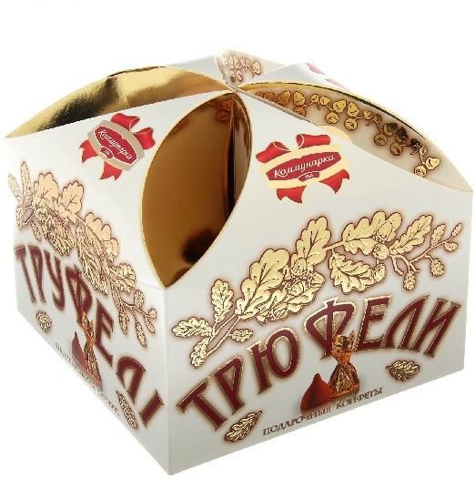 Kommunarka Gift Sweets Truffles Non-Glazed Sweets 300g
