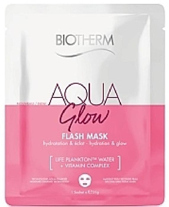 Biotherm Aquasource Glow Flash Mask LB539000 35ml