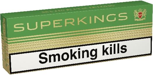 Superkings Menthol 100'S