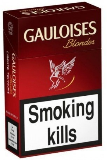 Gauloises Blondes Red LPHW