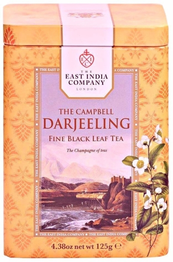 The East India Company The Campbell Darjeeling Tea Caddy 125g
