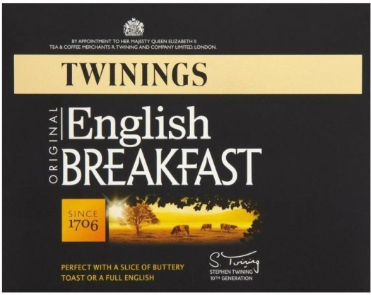 Twinings English Breakfast in tin