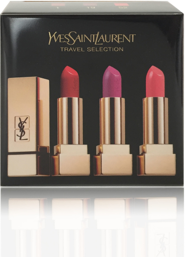 Yves Saint Laurent Trio Rouge Pur Couture Lipstick