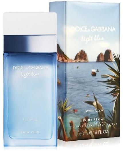 Dolce&Gabbana Light Blue Love In Capri EdT 50ml