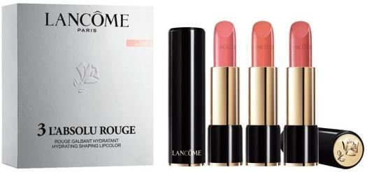 Lancome Absolu Rouge Lipstick Set 3x4.2ml