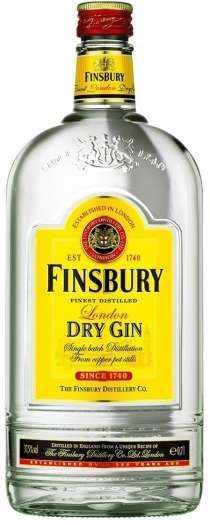 Finsbury London Dry Gin 37.5% 1L