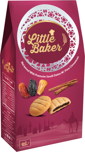 Little Baker Maamoul Dates with Cinnamon 250g