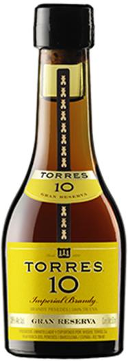 Torres 10 Imperial Gran Reserva 38% 50ml
