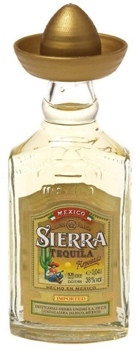 Sierra Tequila Reposado 40ml
