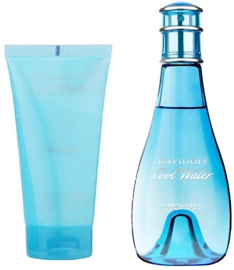 Davidoff Cool Water Woman Set 08 EdT 100ml + 75ml