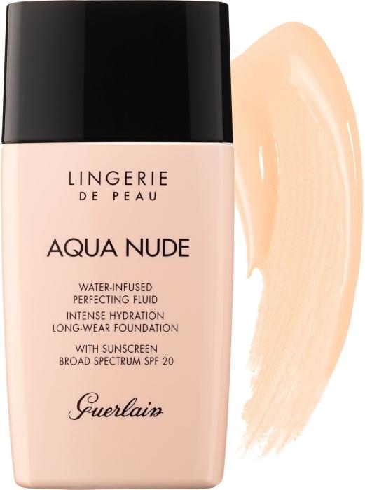 Guerlain Lingerie de Peau Aqua Nude Foundation N03W Natural Warm 30ml