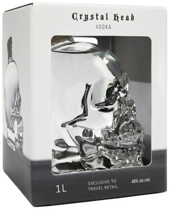 Crystal Head Vodka 1L