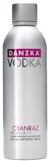 DANZKA Cranraz – Premium Vodka 1L