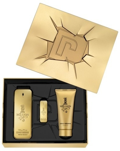 Paco Rabanne 1 Million Set EdT 100ml + 100ml + 5ml