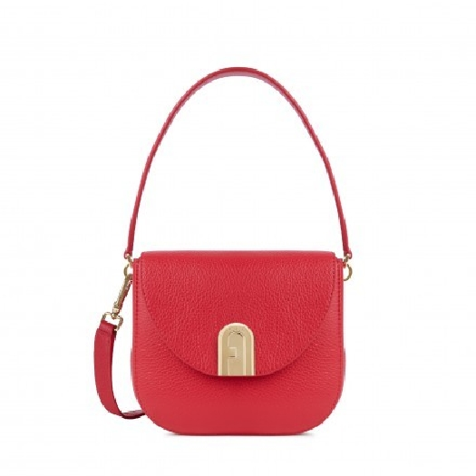 Furla Sleek Mini Crossbody Fragola H