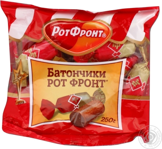Rot Front Russia Candy Bar 250g