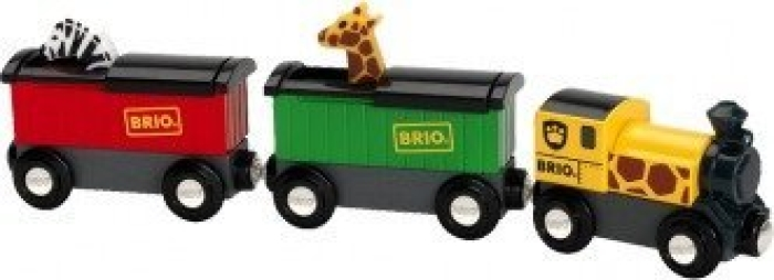 BRIO Wooden Toy 33722 Safari Train