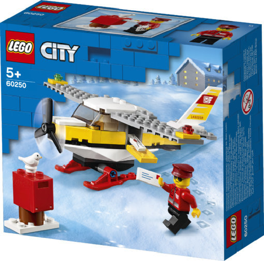 Lego City Mail Plane 60250