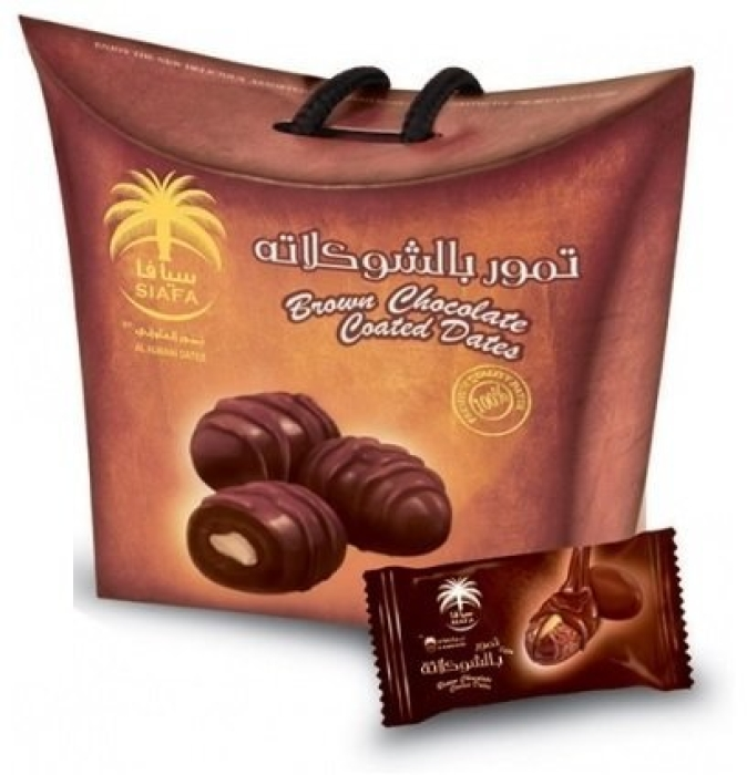 Siafa Brown Chocolate Dates 115g