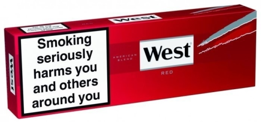 West Red Carton