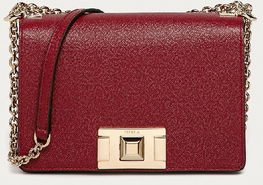 Furla Crossover Mimi 1026447, dark red, Minicrossbody