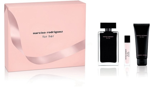 Narciso Rodriguez For Her Set 100ml+75ml+10ml
