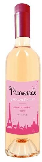 Promenade Rosé, Languedoc, VDF, dry, rosé 0.75L