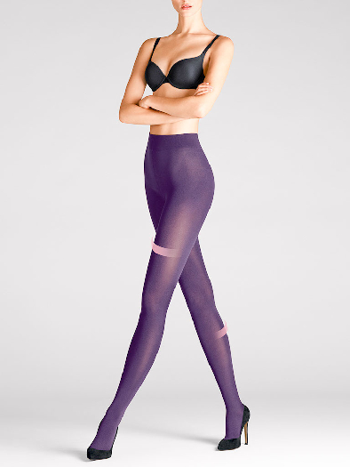 Wolford Velvet 66 Leg Support Tights 7221 XS