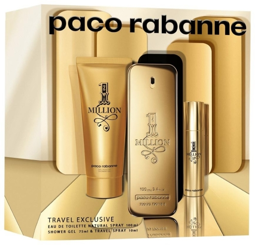 Paco Rabanne 1 Million Set EdT 100ml + 75ml + 10ml
