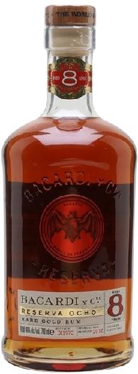 Bacardi Reserva 8 Anos Rum 1L