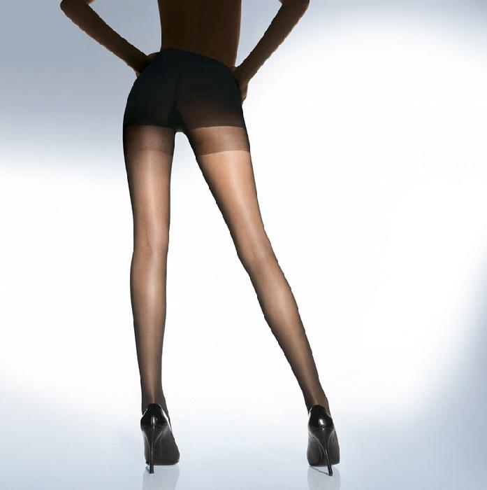 Wolford Miss W 30 Leg Support Tights L