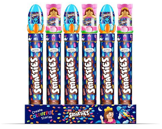 Smarties Giant Tube Dispenser 130g