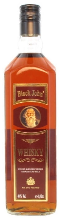 Black John Whisky 0.7l