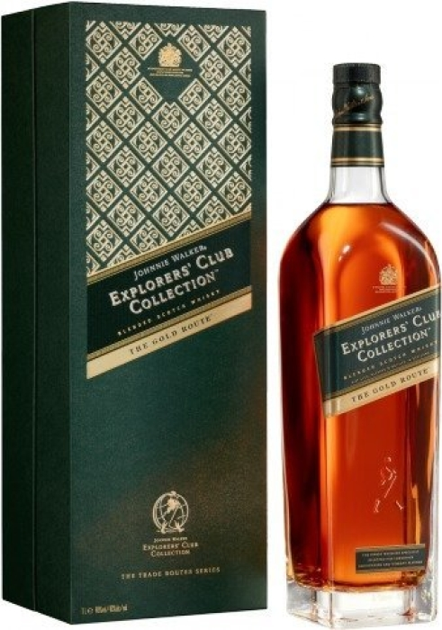 Johnnie Walker Explorers Club Collection The Gold Route 1L