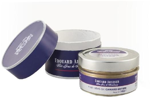 Edouard Artzner Whole Duck Foie Gras in glas jar