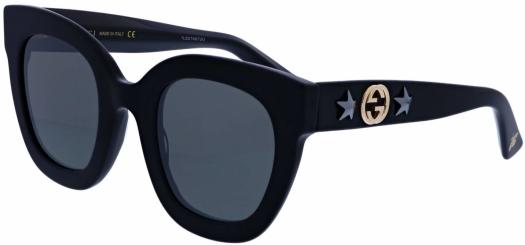 Gucci GG0208S 001 49 Sunglasses
