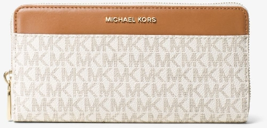 Michael Kors Mercer Logo Continental Wallet