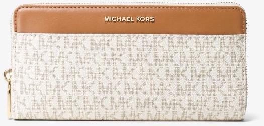 Michael Kors Mercer Logo Continental Wallet