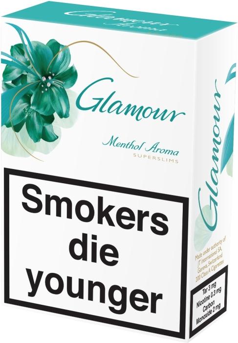 Glamour Menthol 200s NHW