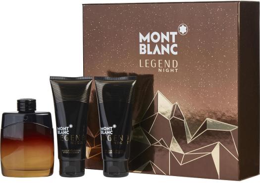 Montblanc Legend Night Set EdT 100ml + 100ml + 100ml