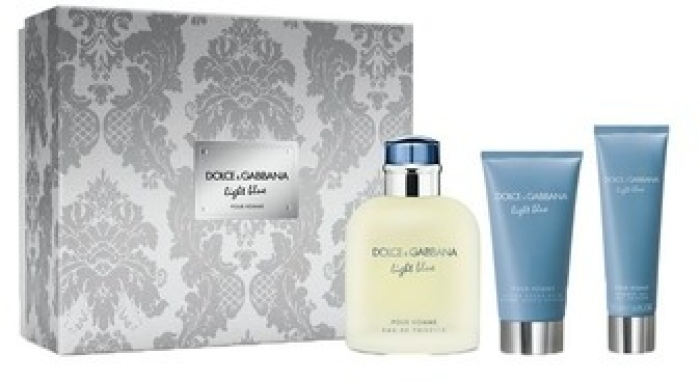 Dolce&Gabbana Light Blue Set 125ml+75ml+50ml