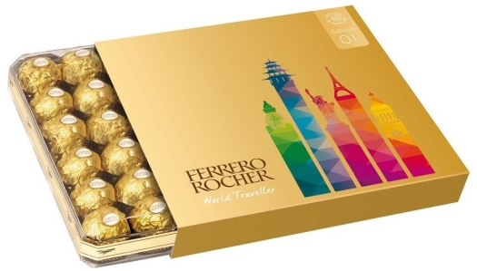 Ferrero Rocher World Traveller 600g