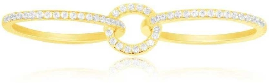 APM Monaco Limited Edition Glamour Yellow Silver Ring