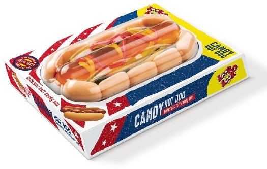 Look-O-Look Candy Hot Dog 100g