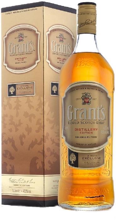 Grant's Distillery Edition 46.3% 1L