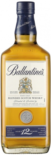 Ballantine's Gold Seal 12 Year Old 40% Whiskey 0.5L