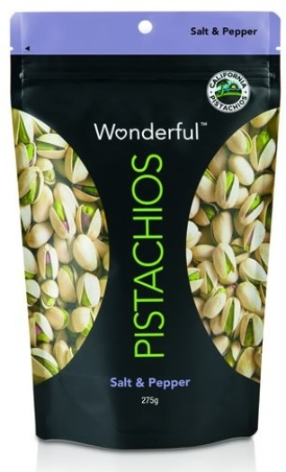 Wonderful Pistachios Salt&Pepper 275g