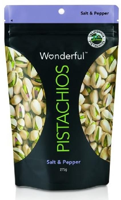 Wonderful Pistachios Salt&Pepper 275g